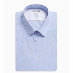 Men's Big & Tall Dress Shirt - Calvin Klein